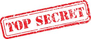 Accroche porte secret